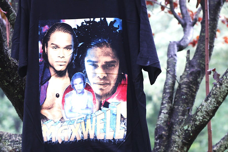 "Image of Rare 90's Vintage ""MAXWELL- FORTUNATE"" Single-Stitch Rap Tee"