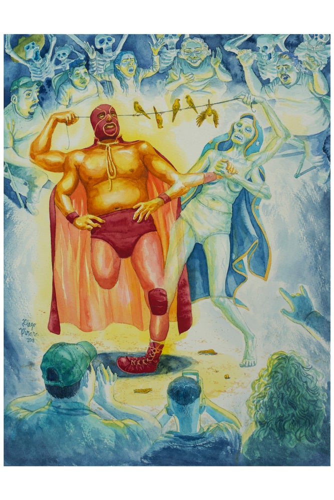Image of La Madre de Luchador (Wrestler's Mother) Print