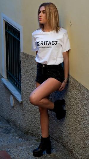 Image of T Shirt Trancendence Bianca