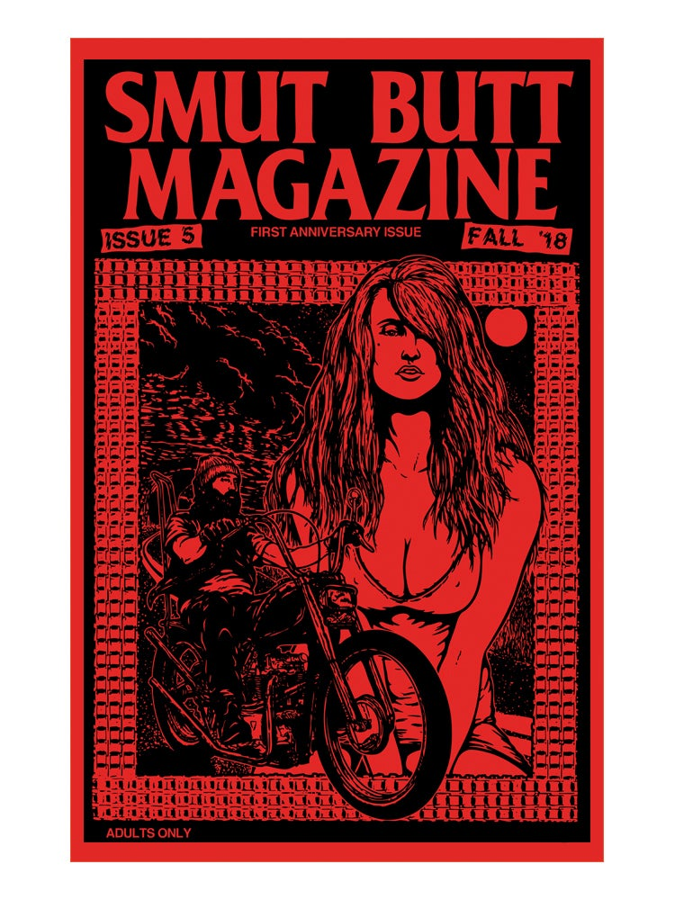 Image of SMUT BUTT MAGAZINE ISSUE 5 DIGITAL ONLY