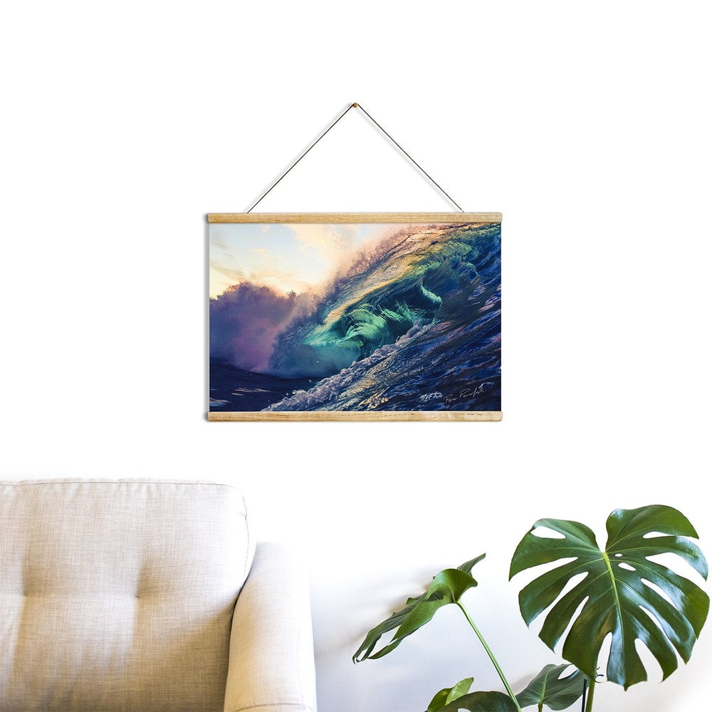 "Image of ""Salt & Light"" Wooden Hanging Frame"