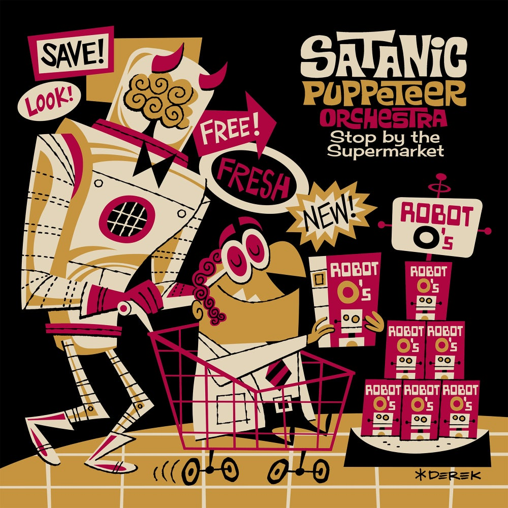 """Image of Stop by the Supermarket 12"""" EP"""