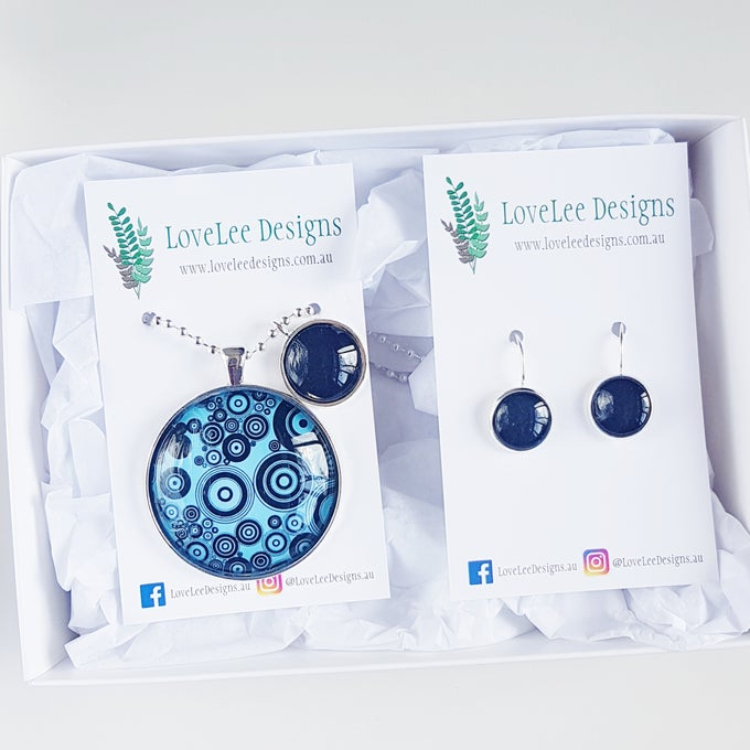 Image of NEW! Gift Set - Black Circles