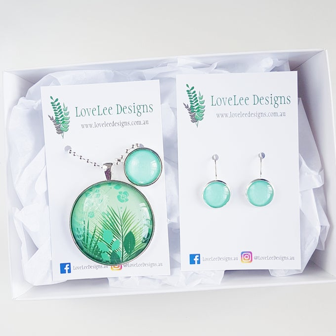 Image of NEW! Gift Set - All the Green Leaves