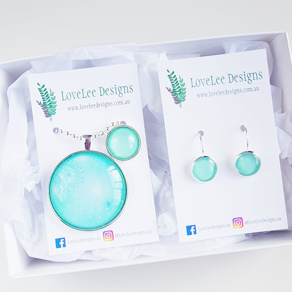 Image of NEW! Gift Set - Aqua Burst