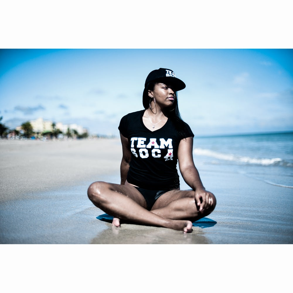 Image of Women's Team Soca V-Neck T-Shirt