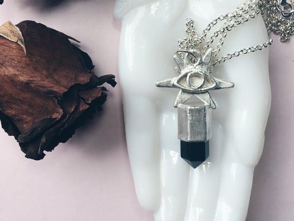 Image of Bellatrix Black Onyx Necklace