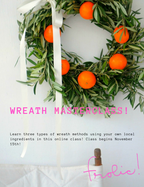 Image of Wreath Masterclass
