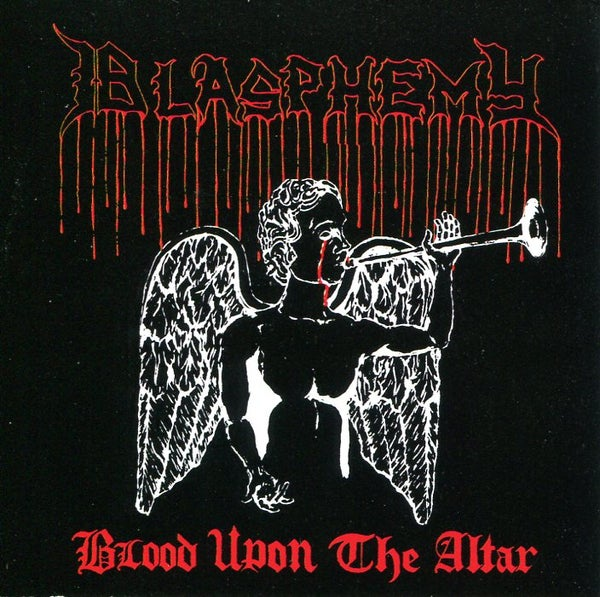 "Image of BLASPHEMY ""Blood Upon The Altar + Bonus"" CD"