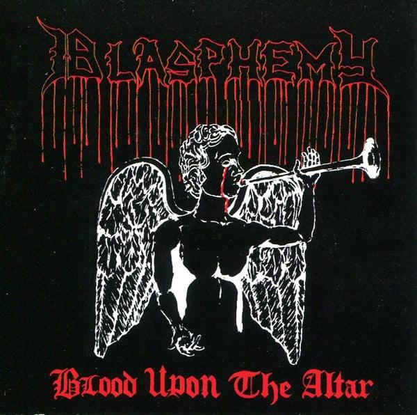 "Image of BLASPHEMY ""Blood Upon The Altar + Bonus"" CD"