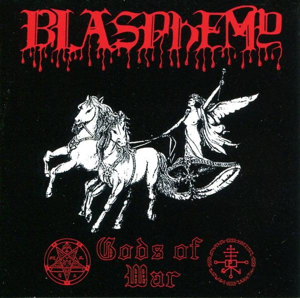 "Image of BLASPHEMY ""Gods Of War"" CD"