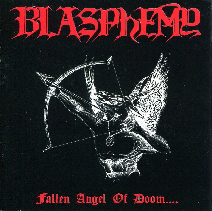 "BLASPHEMY ""Fallen Angel Of Doom..."" CD"