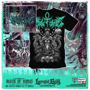 Image of BLADE OF HORUS - God Slayer EXCLUSIVE Double CD bundle