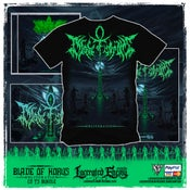 Image of BLADE OF HORUS - Obliteration Album Cover TS bundle