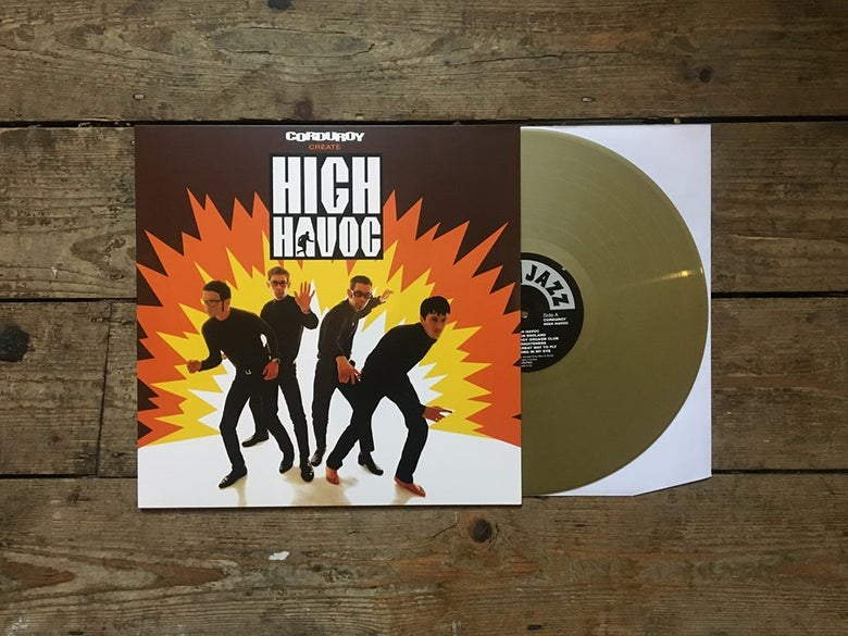 Image of Corduroy - High Havoc (Gold vinyl)