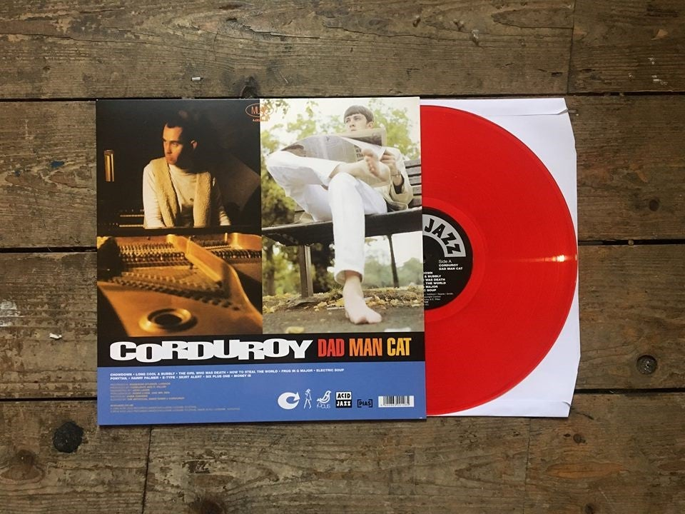 Image of Corduroy - DadManCat (Red Vinyl)