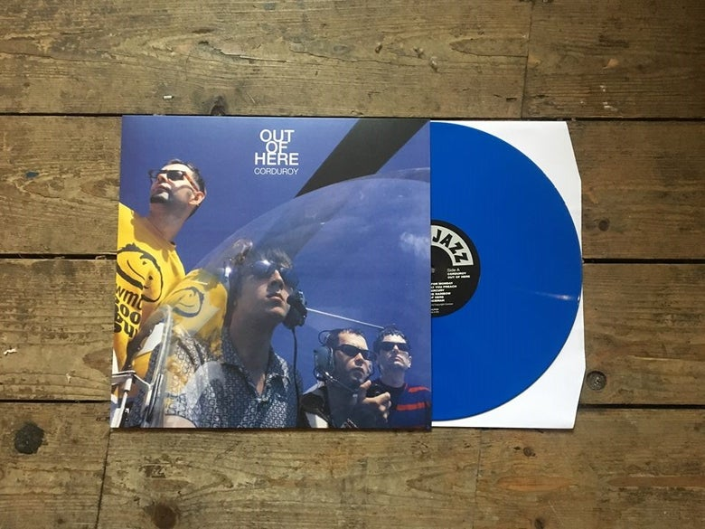 Image of Corduroy - Out Of Here (Blue vinyl)
