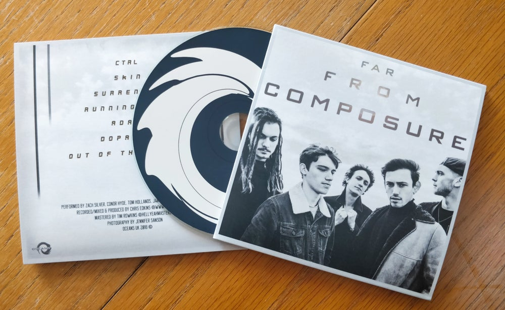 Image of Far From Composure EP - CD
