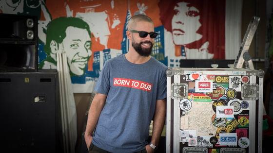 Image of BORN TO DUB T-shirt