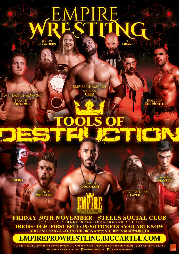 Image of Empire Wrestling: Tools Of Destruction