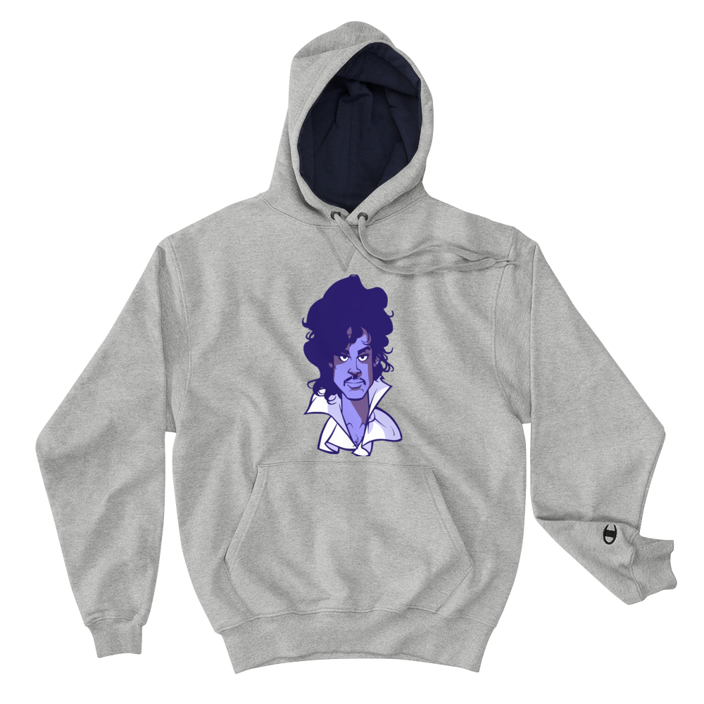 Image of Purple Reign Champion Hoodie Edition (light steel purple face) 4c767d7cf