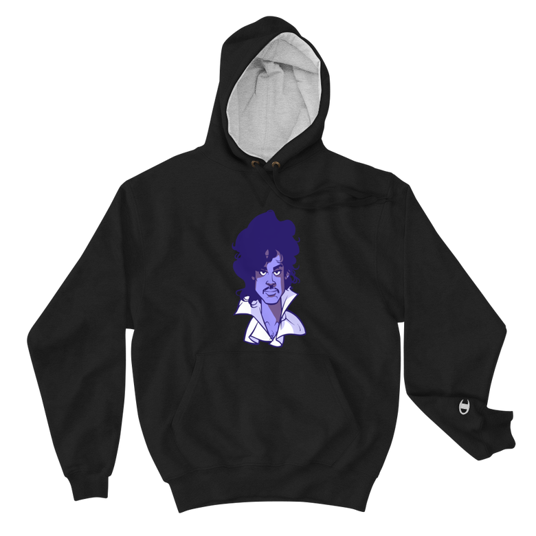 Image of Purple Reign Champion Hoodie Edition (black/purple face)