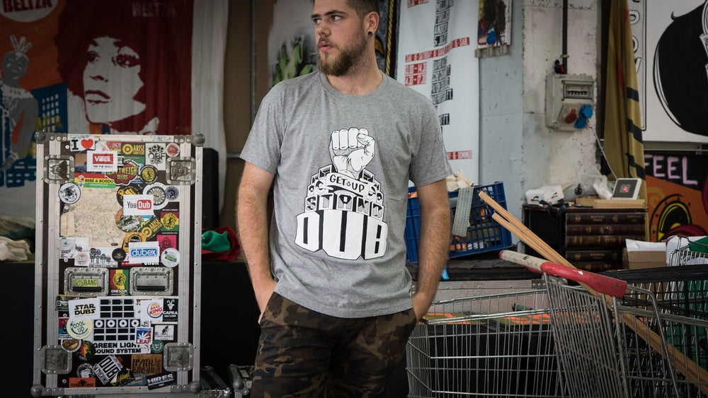 Image of GET UP STAND DUB T-shirt