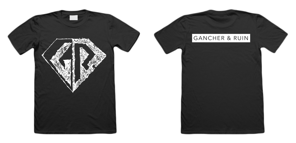 Image of Gancher & Ruin - Classic Logo - Shirt