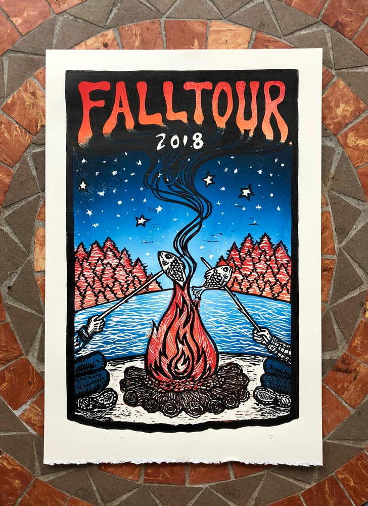 Image of Fall Tour 2018 print