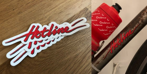 Image of Hotline Script Sticker Pack