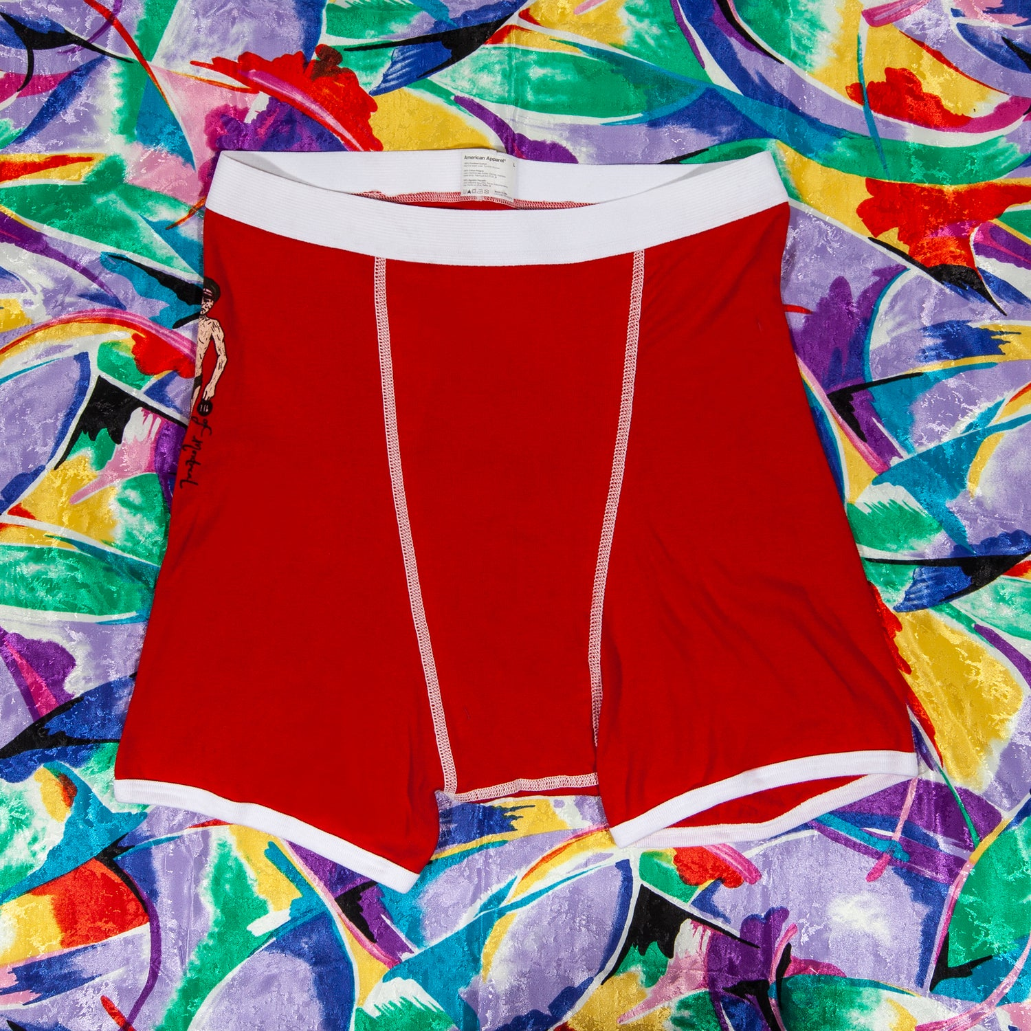 Image of Men's Red Trunks