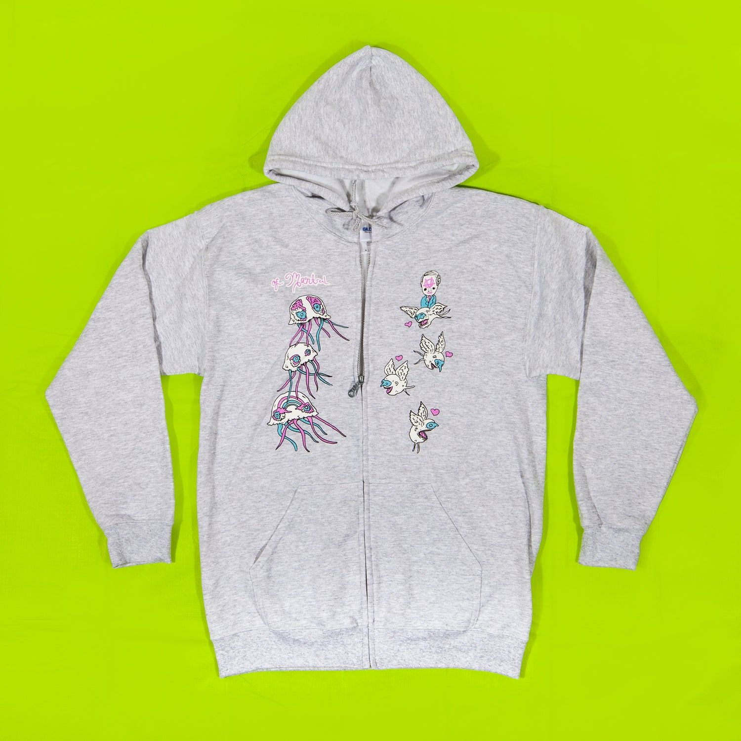 Image of Anarchy Zip-Up Sweatshirt