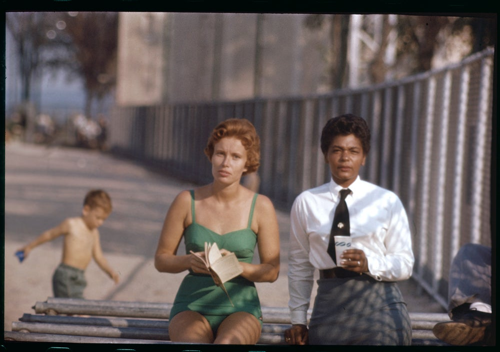Image of Two Women; 1950s