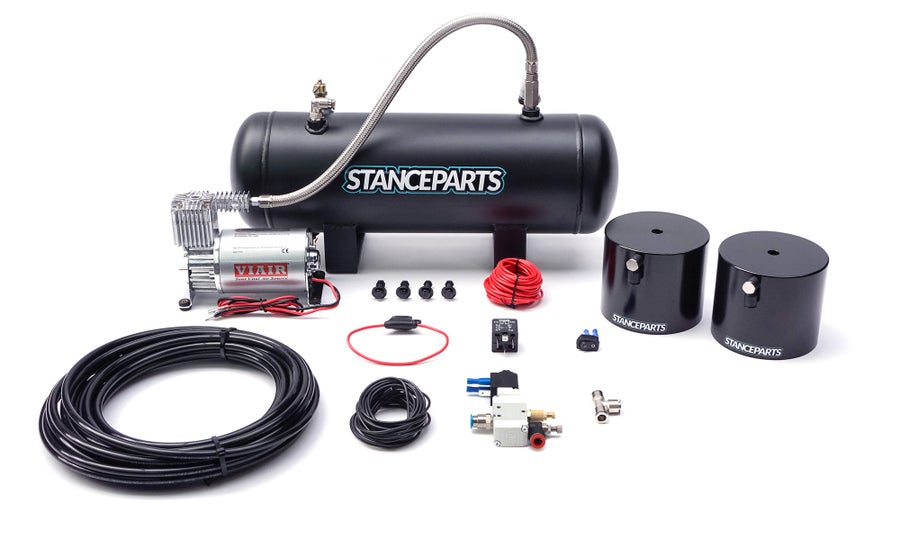 Image of StanceParts Universal Air Cup Kit - Front