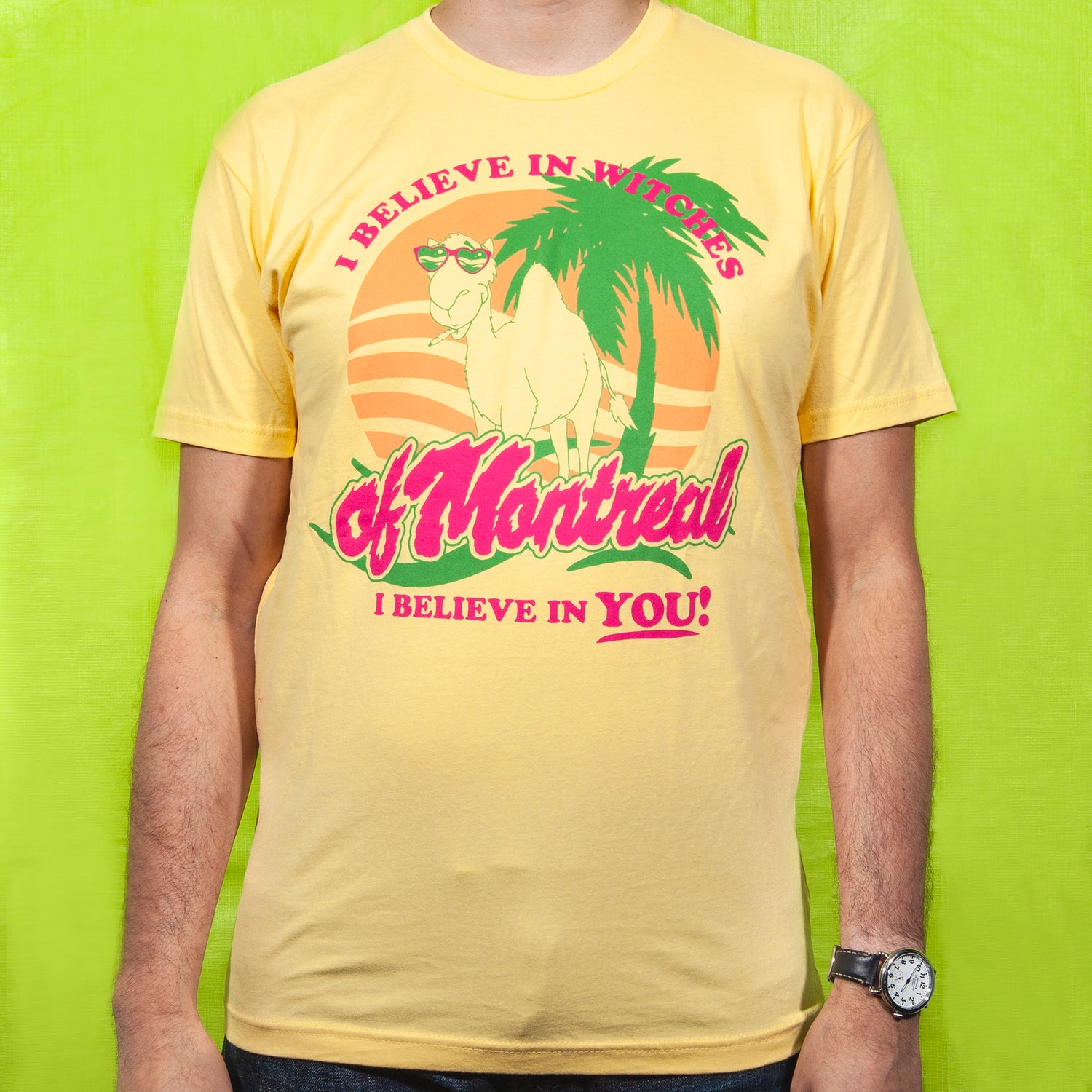 Image of Spring Break T-Shirt (Yellow)