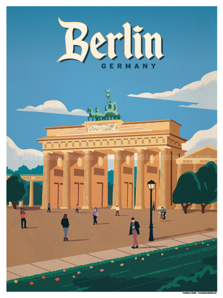 Image of Brandenburg Gate Poster