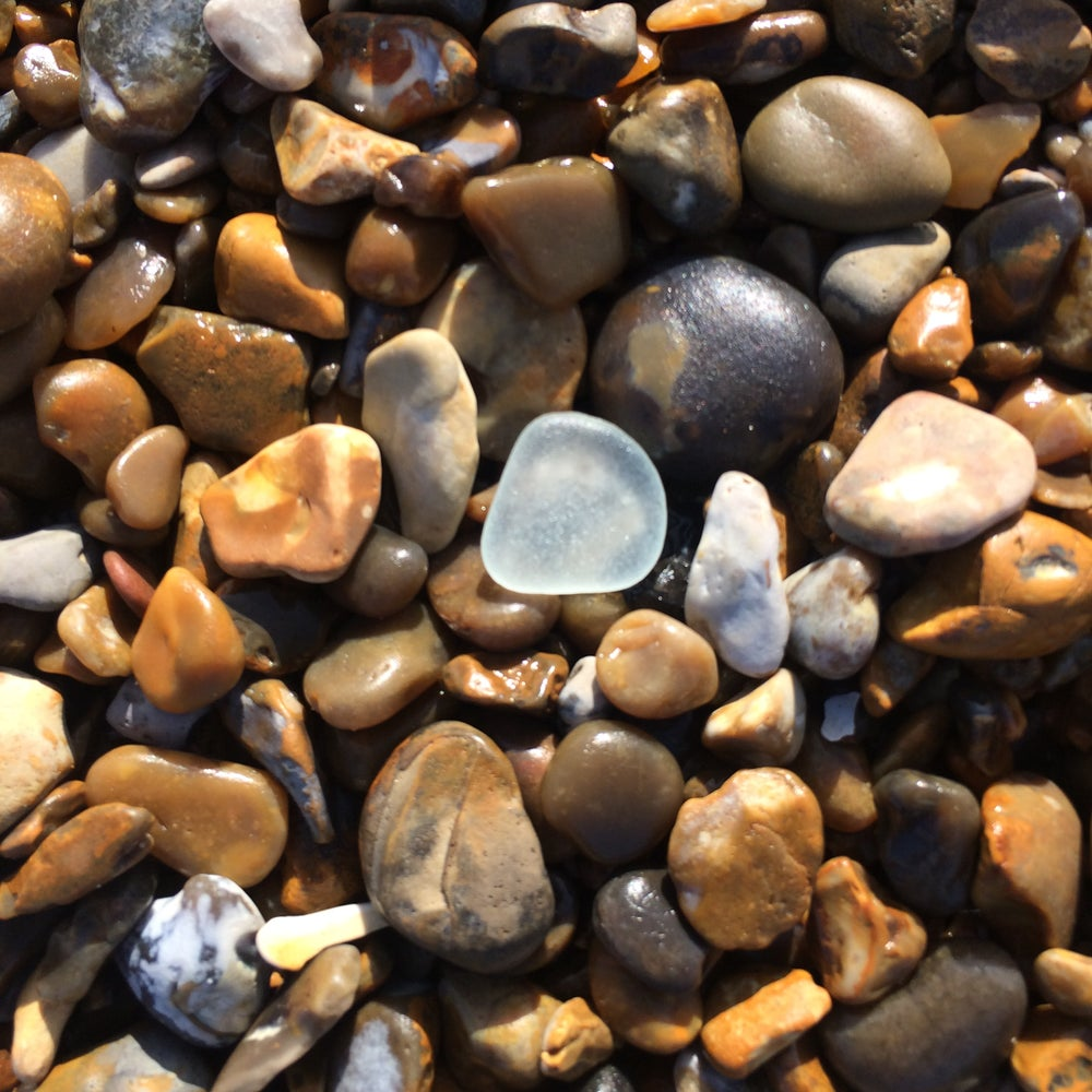 Image of Large sea glass necklace - Sizewell