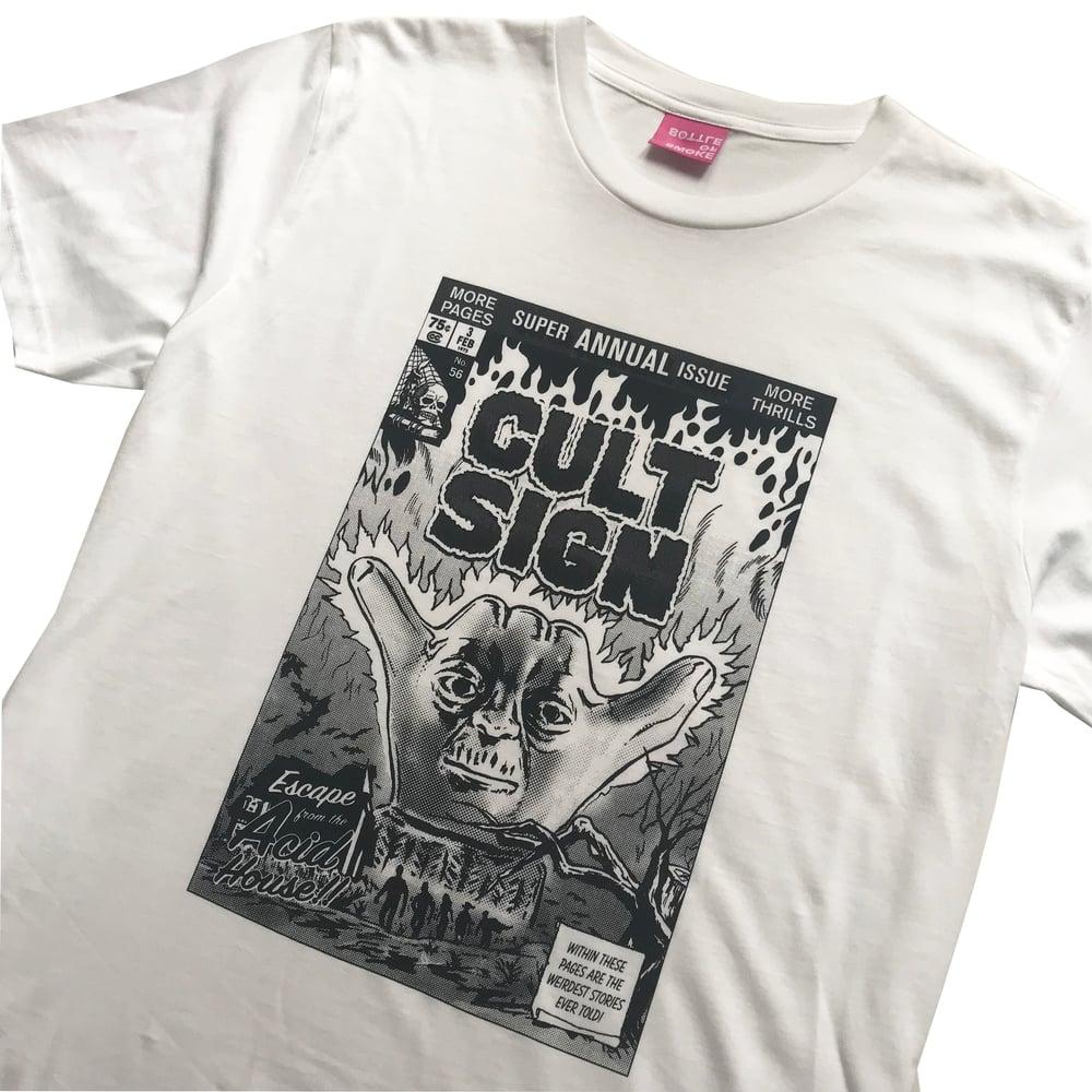 Image of CULT SIGN #56 t-shirt by Hiroshi Iguchi