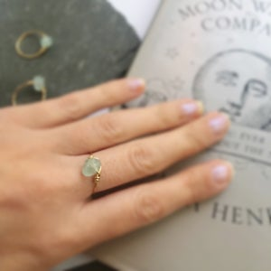 Image of Simple Fluorite Stone Ring