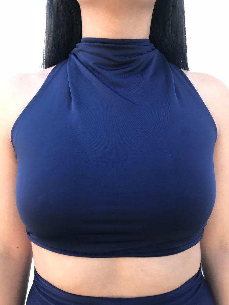 Image of Track crop top