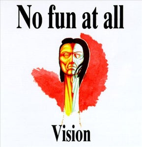 "Image of No Fun At All ""Vision"" 12"" (white vinyl) *** REPRESS OUT NOW! ***"