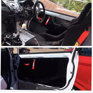 Image of Ford Fiesta mk7 - Perpsex Window Setup