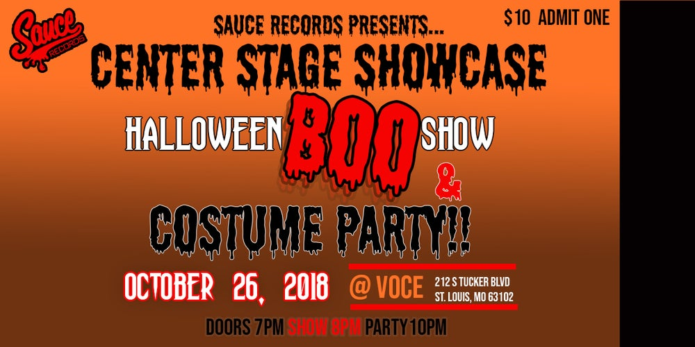 Image of TICKET: Center Stage Showcase HALLOWEEN BOO SHOW.