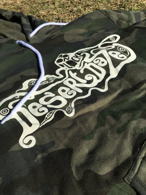 Image of Camo Pullover Hoodie