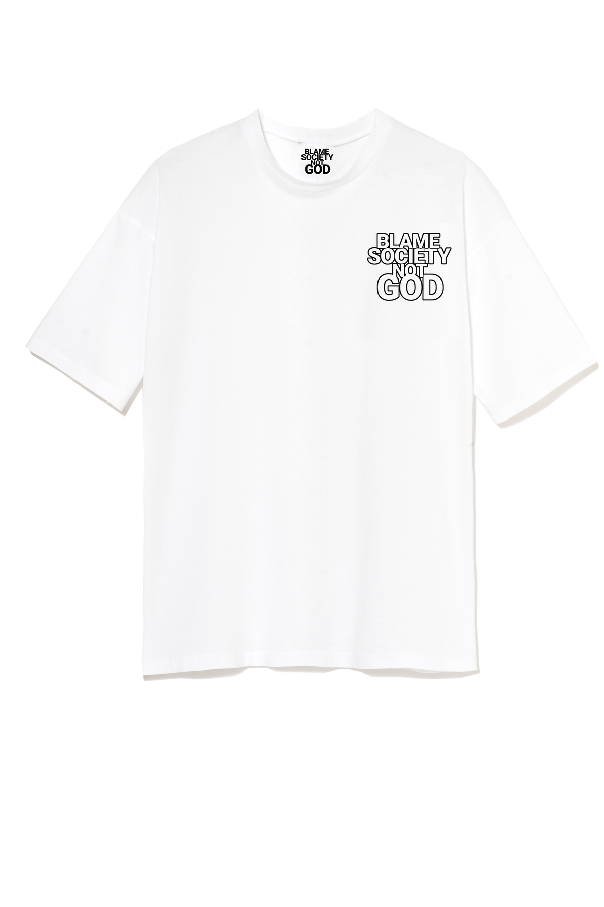 Image of BSND EARTH WHITE T-SHIRT