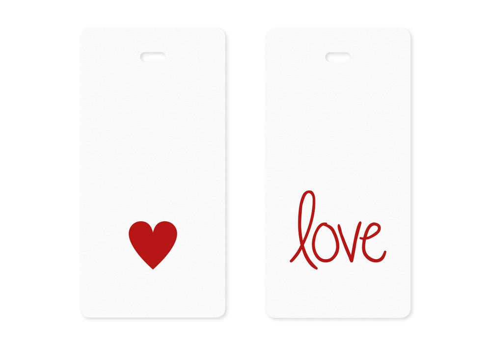 Image of Valentine Gift Tags {10}