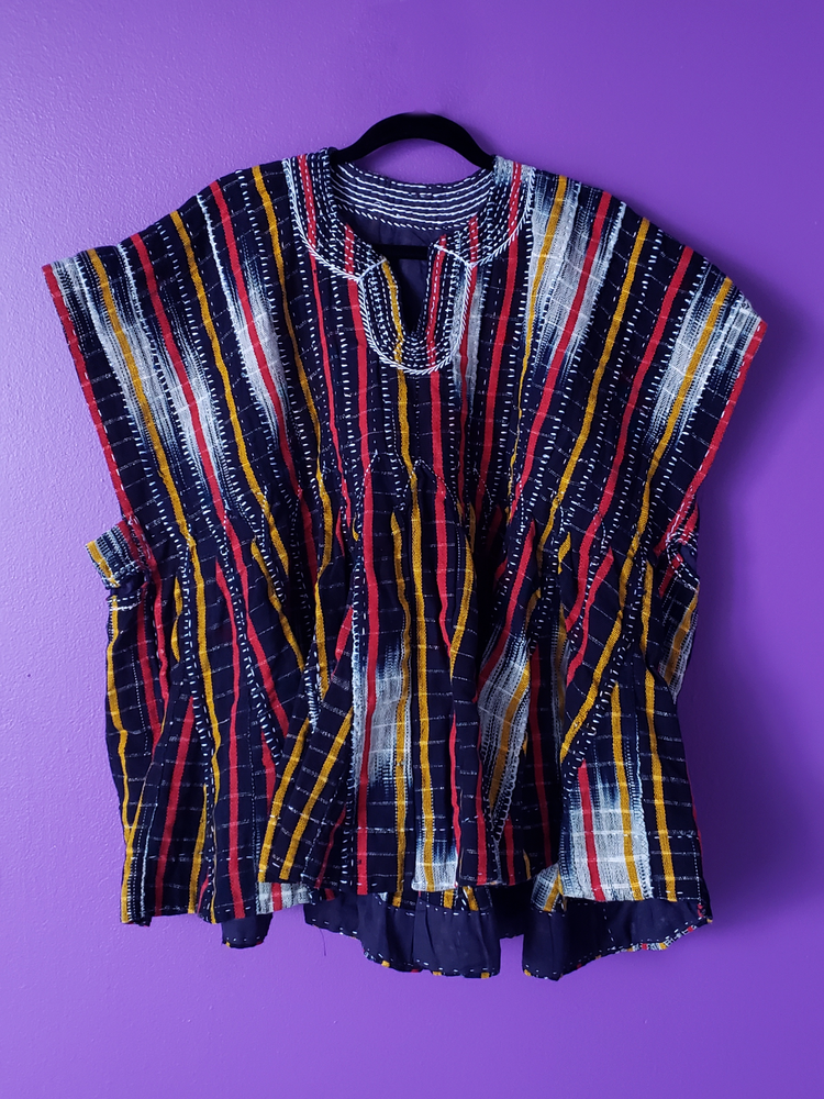 Image of Kofi Striped Woven Smock