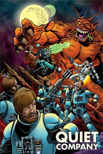 Image of Limited Edition Comic Book / Giant Poster