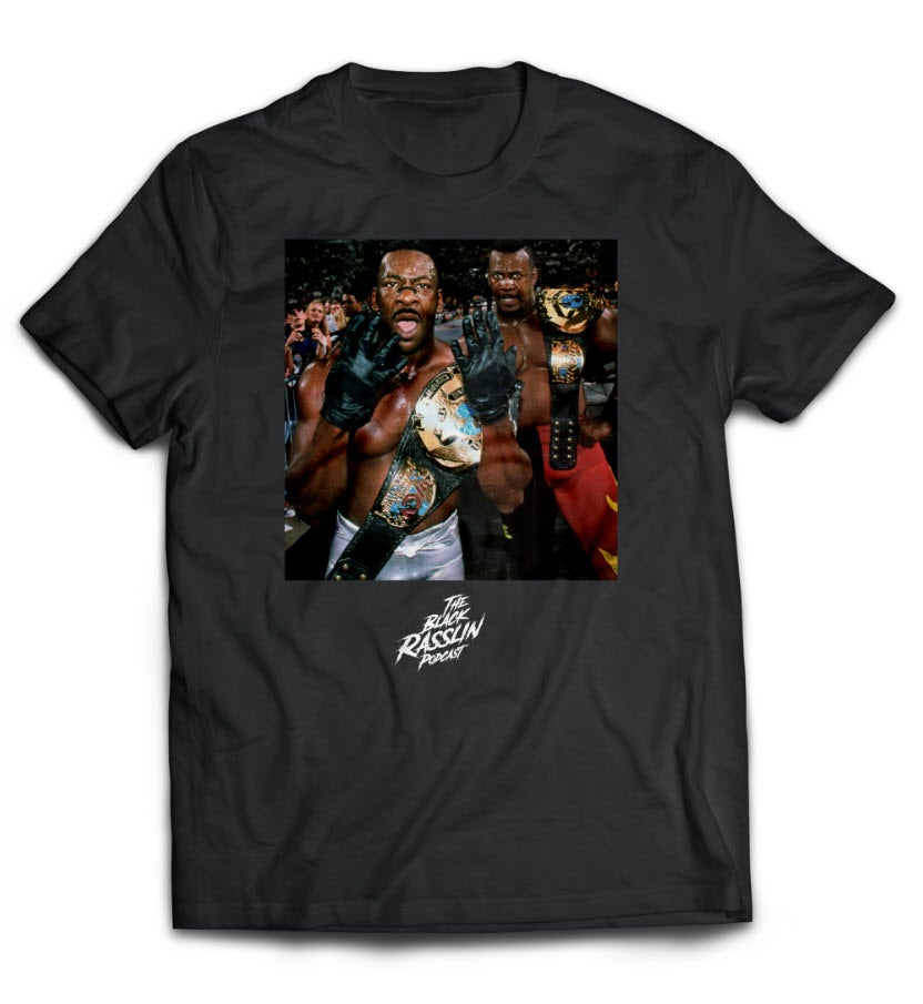 Image of Black Rasslin x GDVLN Collab