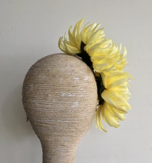 Image of Lemon flower headpiece
